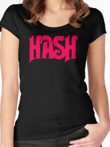 Hash Retro Women's Fitted Scoop T-Shirt