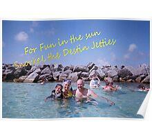 Snorkeling in Destin Postcard Poster