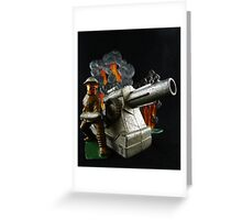 Bombs Bursting in Air Greeting Card
