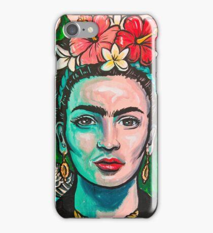 Pink Frida Kahlo iPhone Case/Skin