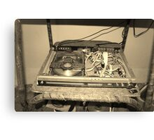 A pre-loved DVD player anyone? Canvas Print