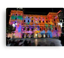 Vivid Sydney 2011 - Customs House Canvas Print