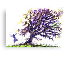 Fairy Dust Tree Canvas Print