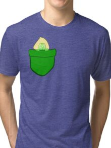 Pocket Peridot Tri-blend T-Shirt