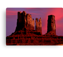 Southwestern Skyscrapers Canvas Print
