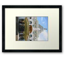 Capitol Fountain Framed Print