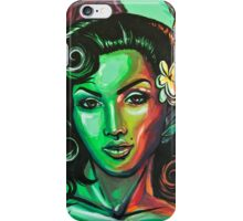 Green Lola Pin up iPhone Case/Skin