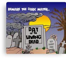 Dark Water - Cybermen Canvas Print