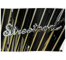 34 Ford Coupe Modified Streetrod Poster