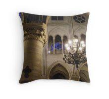 Inside Notre Dame Throw Pillow