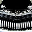 1951 Modified Mercury Coupe Front Grill by Debbie Robbins