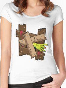 Breaking In Women's Fitted Scoop T-Shirt