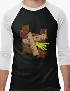Breaking In Men's Baseball ¾ T-Shirt