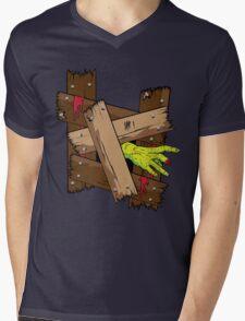 Breaking In Mens V-Neck T-Shirt