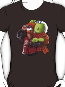 'Meep To The Future' - Beaker McMeep and Doc Honeydew T-Shirt
