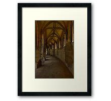 Gothic pathway 2 Framed Print