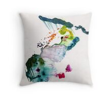 Abstract Painting Nº 13 Throw Pillow