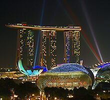 Marina Bay Sands - Singapore by Leanne Allen