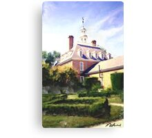 The Governor's Mansion Canvas Print