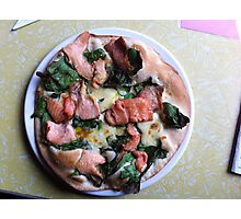 Pizza Salmone Photographic Print