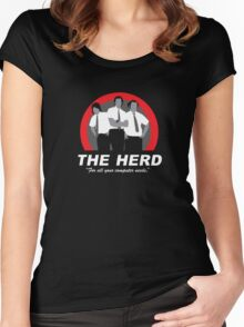 The Herd Women's Fitted Scoop T-Shirt