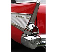 Chevy Fin Photographic Print