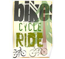 Cyclist Poster