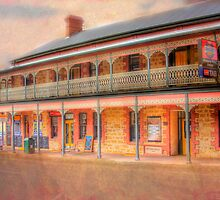 A Relaxing Drink? - The Mannum Hotel, Mannum, South Australia by Mark Richards