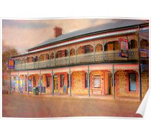 A Relaxing Drink? - The Mannum Hotel, Mannum, South Australia Poster