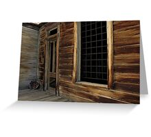 Bodie California 1 Greeting Card