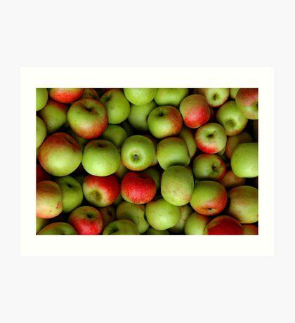 I'm Thinking Apple Pie Art Print