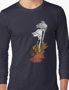 Autumn Bicycle Long Sleeve T-Shirt