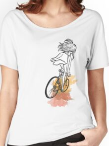 Autumn Bicycle Women's Relaxed Fit T-Shirt