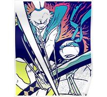 Fight! - Usagi x Leonardo Poster