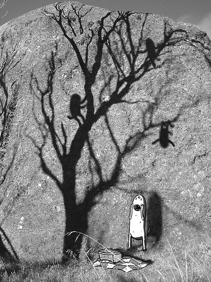 Picnic Shadows by Alice Carroll