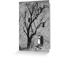 Picnic Shadows Greeting Card