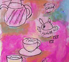 tea for two by Kate Delancel Schultz