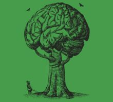 Think Green Graphic Shirt by 785Tees
