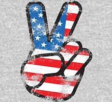 Retro American Peace Shirt Unisex T-Shirt