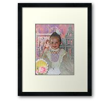 A Little Girl with Victorian Dreams Framed Print