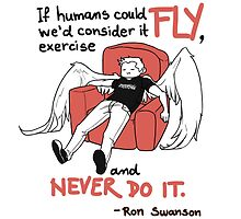 Row Swanson Quote by Spider999Now