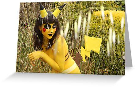 pikachu by samanthayo