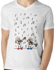 Jammin' Music Shirt Mens V-Neck T-Shirt