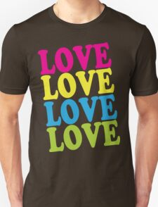 Retro Love Shirt T-Shirt
