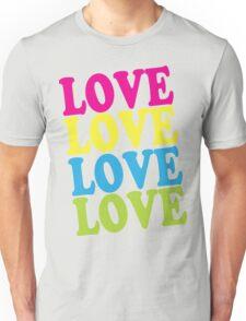 Retro Love Shirt Unisex T-Shirt