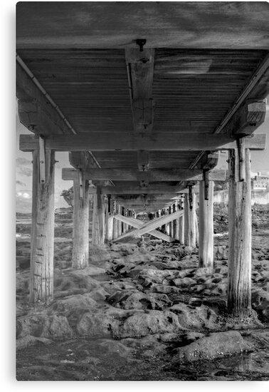 Under the Bridge by Mark  Lucey