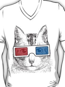 Cat Geek Shirt T-Shirt