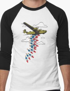 Bobmbs Away! Graphic Shirt Men's Baseball ¾ T-Shirt