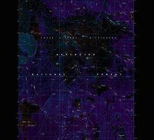 USGS Topo Map Oregon Broken Top 279148 1988 24000 Inverted by wetdryvac