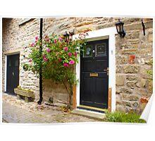 Village Cottage. Poster